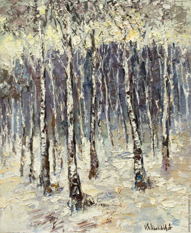 Winter birch bead 100