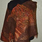 Аксессуары ручной работы. Ярмарка Мастеров - ручная работа Палантин нарядный валяный. Handmade.