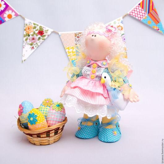 Коллекционные куклы ручной работы. Ярмарка Мастеров - ручная работа. Купить Интерьерная кукла. К светлой Пасхе. Handmade. Комбинированный
