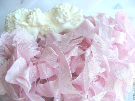 Открытки и скрапбукинг ручной работы. Ярмарка Мастеров - ручная работа. Купить Шебби-лента Розовая орхидея. Handmade. шебби-лента