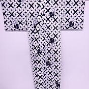 Одежда винтажная ручной работы. Ярмарка Мастеров - ручная работа Винтажная юката, Япония, хлопок. Handmade.