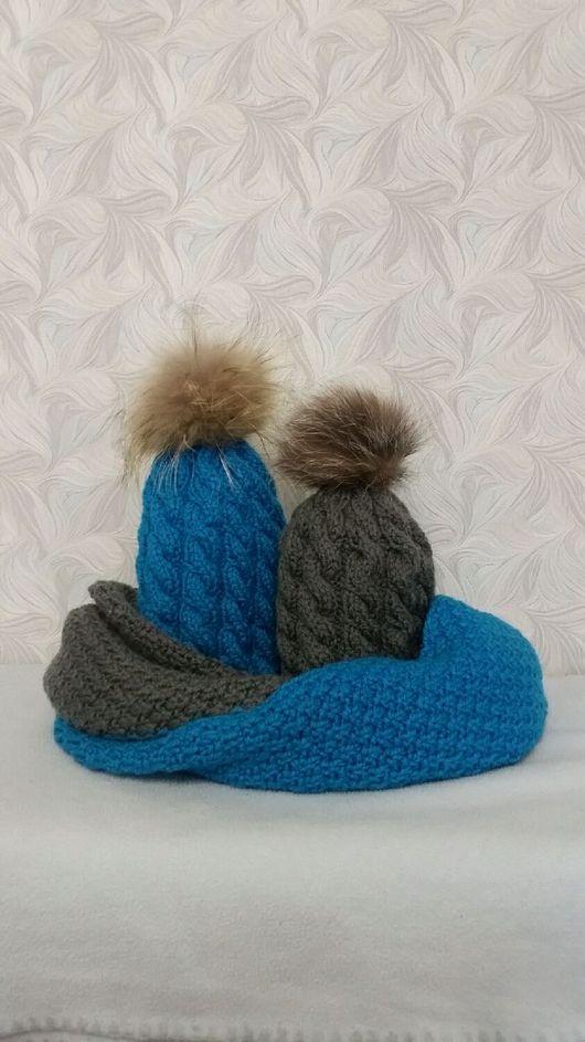 Шапки ручной работы. Ярмарка Мастеров - ручная работа. Купить Шапка с косами #2. Handmade. Шапка, модные шапки