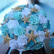 Цветы и флористика handmade. Livemaster - original item Marine bouquet polymer clay. Handmade.