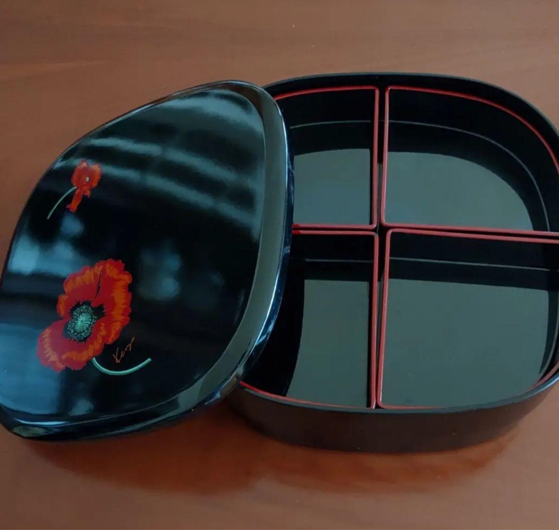 Винтаж: Винтаж: Великолепная лаковая шкатулка от Kenzo, Предметы интерьера винтажные, Кобе,  Фото №1