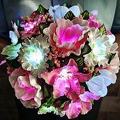 Для дома и интерьера handmade. Livemaster - original item Bouquet-night light