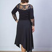 Одежда handmade. Livemaster - original item Skirt asymmetrical skirt with lace. Handmade.