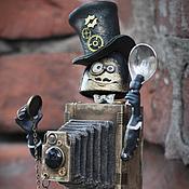 Куклы и игрушки ручной работы. Ярмарка Мастеров - ручная работа Добрый фотограф Джозеф. Handmade.