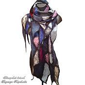 Аксессуары handmade. Livemaster - original item Large felted scarf