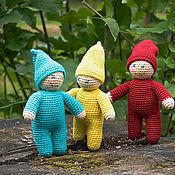 Куклы и игрушки ручной работы. Ярмарка Мастеров - ручная работа Вязаная игрушка кукла Гномик. Handmade.