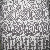Одежда ручной работы. Ярмарка Мастеров - ручная работа Кардиган РОЗЫ НА СНЕГУ. Handmade.