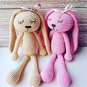 """Куклы и игрушки ручной работы. Ярмарка Мастеров - ручная работа Игрушка """"Сонный зайка"""". Handmade."""