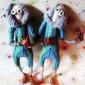 """Кукла-оберег ручной работы. Ярмарка Мастеров - ручная работа Куклы - обереги: Третий и Четвёртый из мультфильма """"Девять"""". Handmade."""