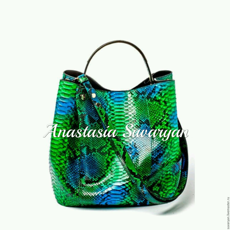 bag leather Python, Bags, Barnaul, Фото №1