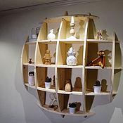 Для дома и интерьера ручной работы. Ярмарка Мастеров - ручная работа Полка Сфера. Handmade.
