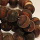 Агат Дзи, цвет - шоколад, матовые бусины. Бусины агата 10 мм. Агат для создания украшений. Busimir