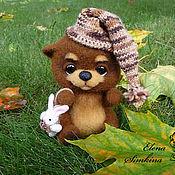 """Куклы и игрушки ручной работы. Ярмарка Мастеров - ручная работа Мишка """"Сопелка"""". Handmade."""