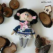 Куклы и игрушки ручной работы. Ярмарка Мастеров - ручная работа Куколка-малышка. Handmade.