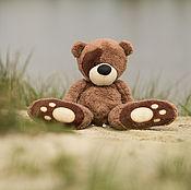 Куклы и игрушки ручной работы. Ярмарка Мастеров - ручная работа Медвежонок с большими лапами. Handmade.