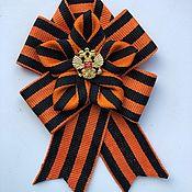 handmade. Livemaster - original item Brooch to celebrate Victory Day. Handmade.
