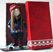 Куклы и пупсы ручной работы. Ярмарка Мастеров - ручная работа Куклы и пупсы: Интерьерная текстильная кукла Ханна. Handmade.
