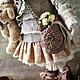 Коллекционные куклы ручной работы. Заказать По мотивам Иделии.Текстильная кукла. Бохо стиль. ALBINAToys.. Ярмарка Мастеров. Кукла