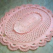 Для дома и интерьера handmade. Livemaster - original item Handmade carpet from cord Oval Elegant. Handmade.
