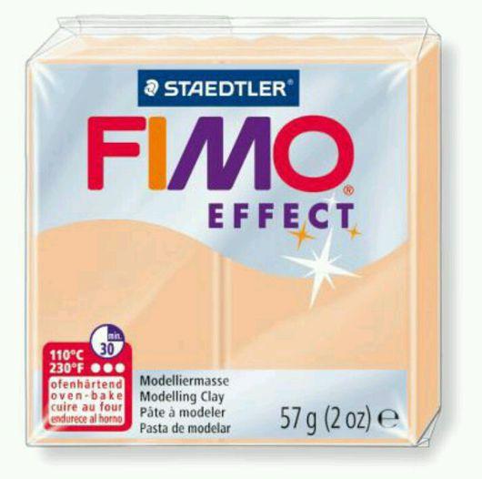 Для украшений ручной работы. Ярмарка Мастеров - ручная работа. Купить Персиковый (405) - Fimo Effect Pastel. Handmade.