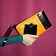 """Для телефонов ручной работы. Ярмарка Мастеров - ручная работа. Купить Чехол для планшета """"Желтый + черный"""". Handmade. Желтый"""