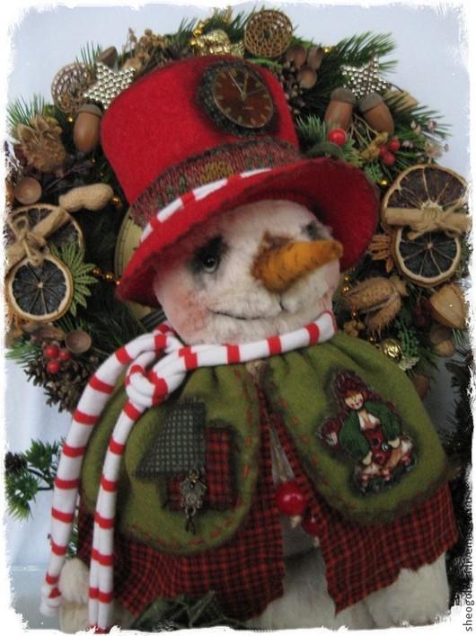 Мишки Тедди ручной работы. Ярмарка Мастеров - ручная работа. Купить Merry Christmas....!!!. Handmade. Оливковый, новогодние праздники