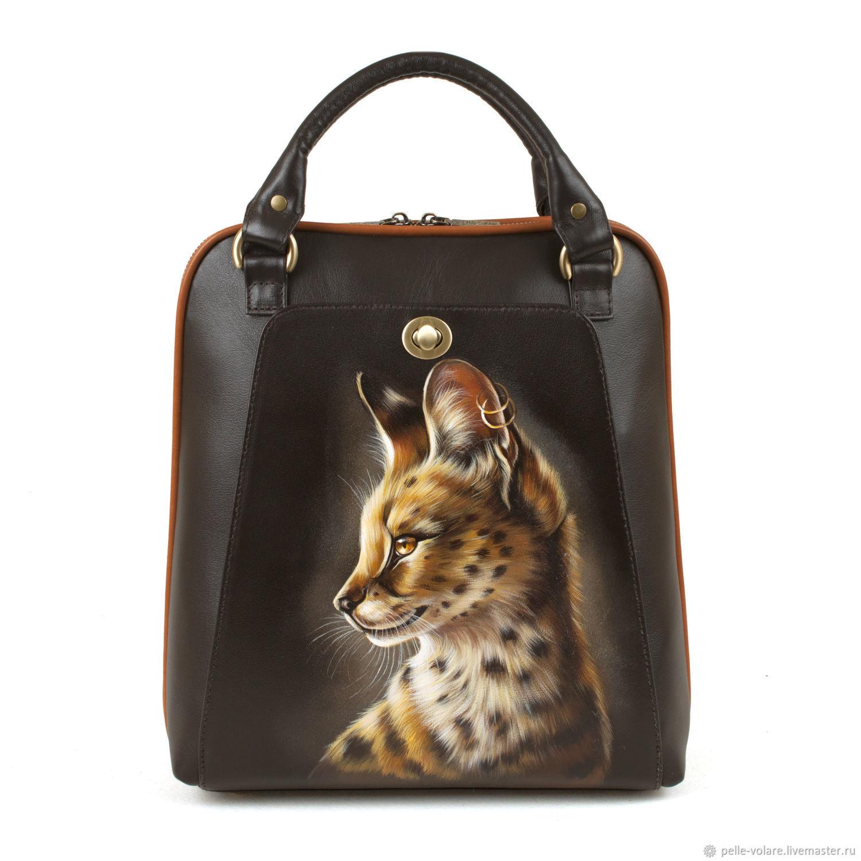 Bag backpack ' Serval', Backpacks, St. Petersburg,  Фото №1