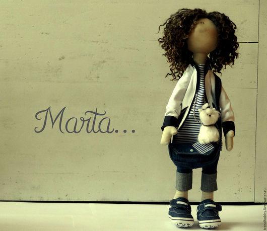 Коллекционные куклы ручной работы. Ярмарка Мастеров - ручная работа. Купить Кукла интерьерная текстильная  (по мотивам Т.Коннэ) большеножка. Handmade.