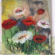 Картины и панно ручной работы. Ярмарка Мастеров - ручная работа Картина из шерсти. Handmade.