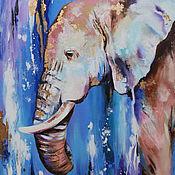 Картины и панно handmade. Livemaster - original item Oil painting on canvas with potala 50/60 cm.. Handmade.
