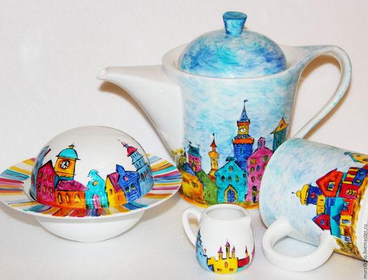 Набор чайный Городок сказок Андерсена
