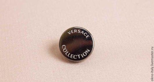 Шитье ручной работы. Ярмарка Мастеров - ручная работа. Купить Кнопки «Versace». Handmade. Черный, кнопки металлические, фурнитура, для куртки