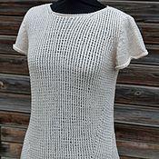 """Одежда ручной работы. Ярмарка Мастеров - ручная работа Пуловер вязаный  """" Настроение"""". Handmade."""