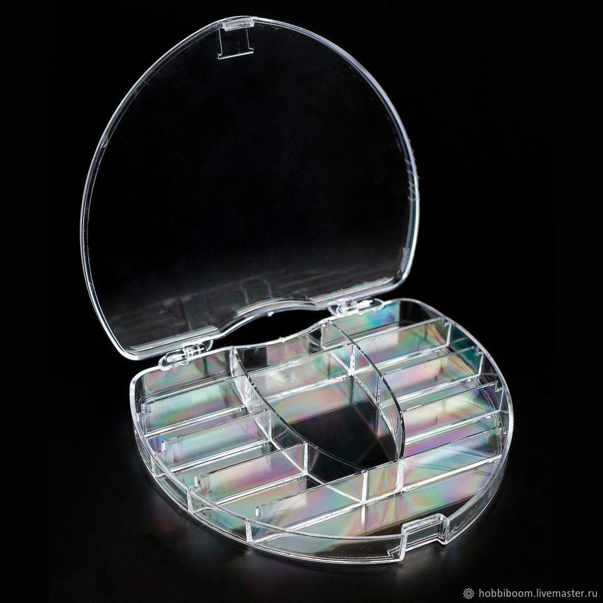 Пластиковый органайзер для мелочей, 11 секций (сердце), Органайзеры, Ростов-на-Дону,  Фото №1
