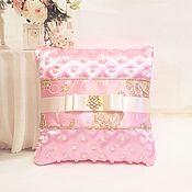 Свадебный салон handmade. Livemaster - original item Cushion for rings Princess. Handmade.
