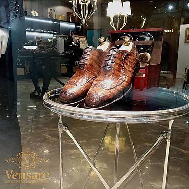 Обувь ручной работы. Ярмарка Мастеров - ручная работа Оксфорды с ручным швом. Handmade.