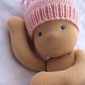 Куклы и игрушки handmade. Livemaster - original item Waldorf baby doll, 36 cm. Handmade.