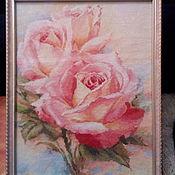 Картины и панно handmade. Livemaster - original item Rose. Handmade.