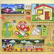 Куклы и игрушки handmade. Livemaster - original item Basebord To Develop A Game Module Board
