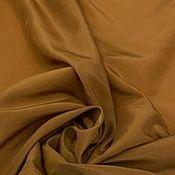 Материалы для творчества handmade. Livemaster - original item Fabric: Lining with elastane bronze. Handmade.