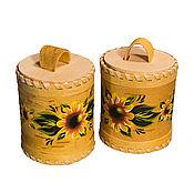 Для дома и интерьера handmade. Livemaster - original item Birch bark tuesok