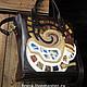 Handbags handmade. Bag 'Smell The Coffee'.. bag_bella (Fevra). Online shopping on My Livemaster. Coffee, brown, long
