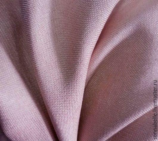 Шитье ручной работы. Ярмарка Мастеров - ручная работа. Купить Портьерная ткань под лен Розовый припудренный. Handmade. Комбинированный