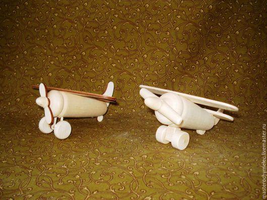 Декупаж и роспись ручной работы. Ярмарка Мастеров - ручная работа. Купить Самолетик. Handmade. Деревянные заготовки, деревянный самолет