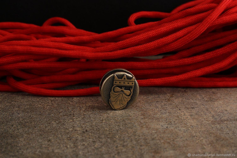 Бусина для темляка Мертвый Король ,бусина для ножа ,бусины для ножей, Бусины, Волгоград,  Фото №1