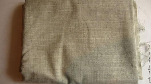 Шитье ручной работы. Ярмарка Мастеров - ручная работа. Купить лен в полоску. Handmade. Серый, лен, лён натуральный, шитье