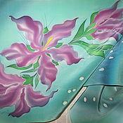Аксессуары ручной работы. Ярмарка Мастеров - ручная работа Сиреневая лиля. Handmade.